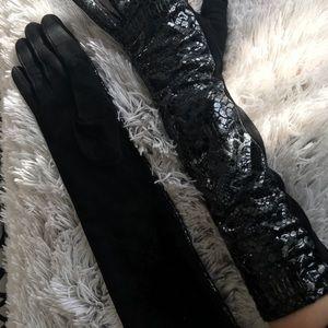Accessories - Parisi Gloves long animal print